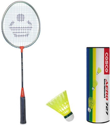 Cosco Cb 120 With Aero 727 Nylon Shuttlecock Badminton Kit