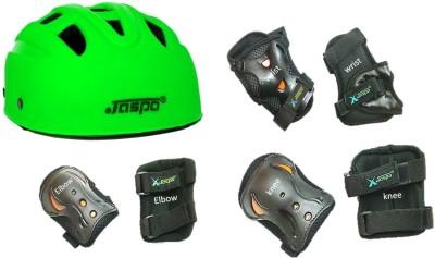 Jaspo jaspo safe-max multi purpose protective set green Skating, Cycling Kit