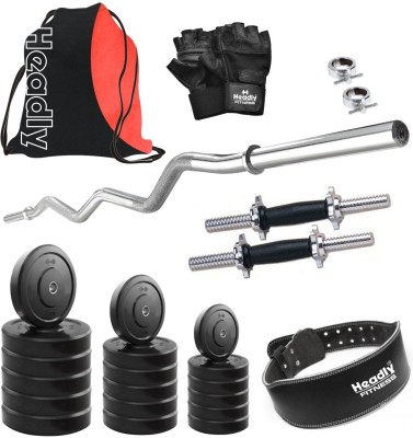 Headly HR-10 kg Combo 24 Gym & Fitness Kit