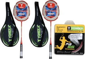 YONEKA PRO 850 WITH STRING Badminton Kit