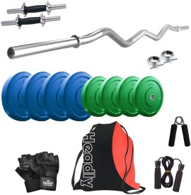 Headly Premium CP-HR-20KGCOMBO3 Coloured Gym & Fitness Kit