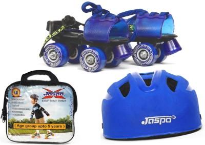 Jaspo Kids Delite Dual junior Skates Combo (skates+helmet+bag)suitable for age upto 5 years Skating Kit
