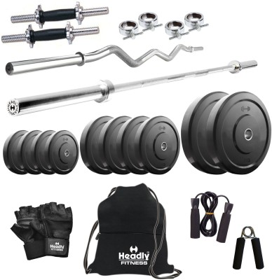 Headly 8 kg Combo 2 Home Gym & Fitness Kit