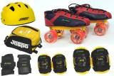 Jaspo Poison Red Pro Shoe Skates Combo (...