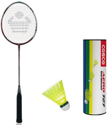 Cosco Cbx 450 With Aero 727 Nylon Shuttlecock Badminton Kit