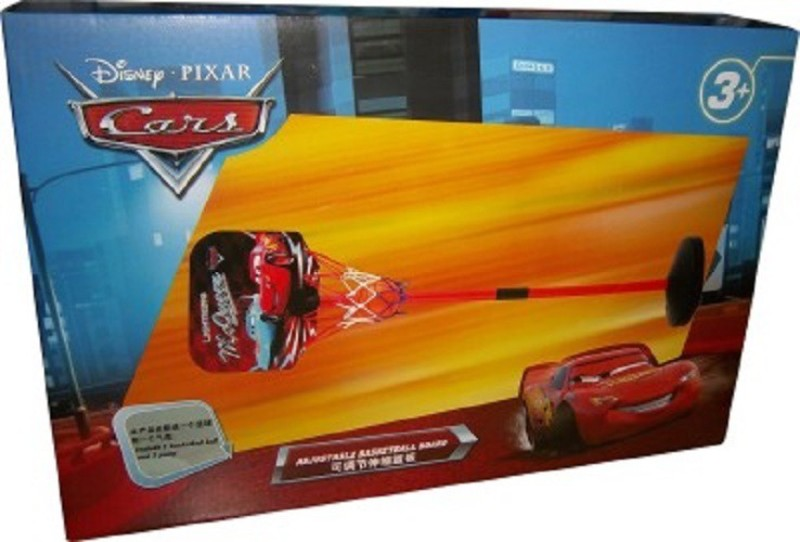 Disney Cars Adjustable Basketball Kit
