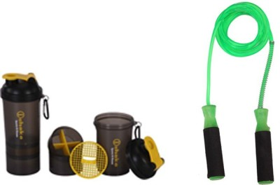 BLT Preity Skipping Rope With Shaker Gym & Fitness Kit