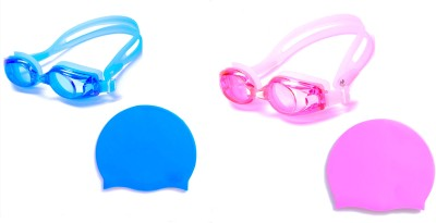 Vinto Perfect Combo Of Blue & Pink Swimming Kit