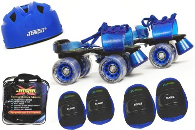 Jaspo Passion Intact Superior Senior Skates Combo (skates+helmet+knee+elbow+bag)suitable for age upto 6 to 14 years Skating Kit