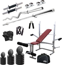 Headly 46 kg Combo CC 8 Total Gym & Fitness Kit