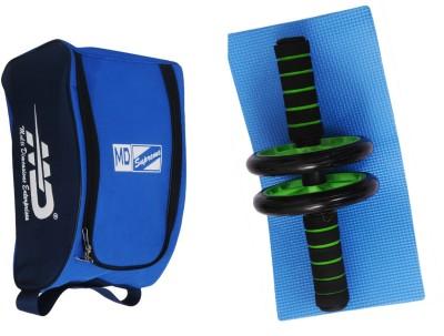 MD Ab Wheel (Executive) with Bag Gym & Fitness Kit