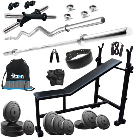 FITZON 105KGCOMBO 6 Gym & Fitness Kit