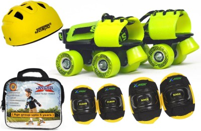 Jaspo Next -Gen Intact junior Skates (skates+helmet+knee+elbow+bag)suitable for age upto 5 years Skating Kit