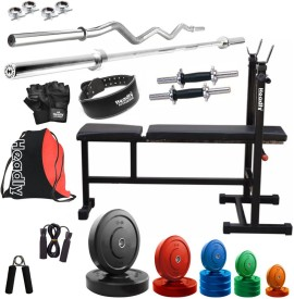 Headly Premium CP-HR-52KGCOMBO6 Coloured Gym & Fitness Kit