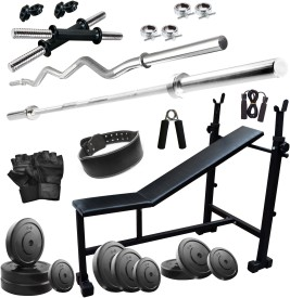 FITZON 45KGCOMBO 6 WB Gym & Fitness Kit