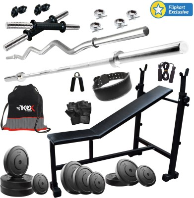 KRX 60 KG COMBO 6 Gym & Fitness Kit