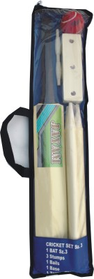 JAYAM SUPER FIRE WING Sz.3 (Size 3 Bat, Stumps, Stand, Bails, Ball With Cover) Cricket, Tennis Kit