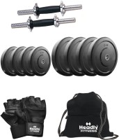 Headly 20 kg DMCombo 3 Home Gym & Fitness Kit