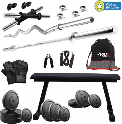 KRX 45KG COMBO 7 Gym & Fitness Kit
