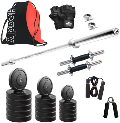 Headly HR-18 kg Combo 9 Gym & Fitness Kit