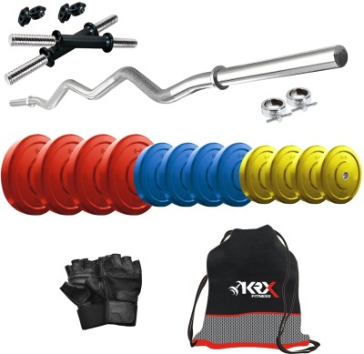 KRX Premium CP-42 KG COMBO 4 Gym & Fitness Kit