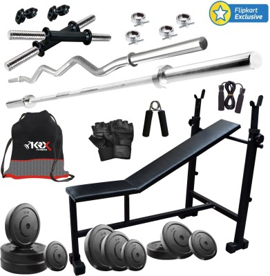 KRX 60 KG COMBO 5 Gym & Fitness Kit