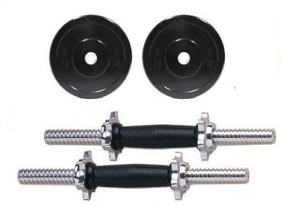 Krazy Fitness 6 Kg PVC Adjustable Dumbells Gym & Fitness Kit