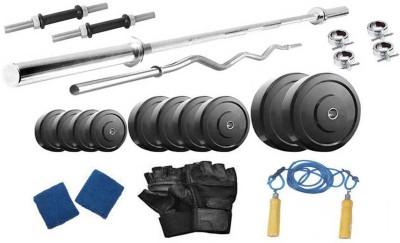 Protoner 50 Kgs & 4 Rods Gym & Fitness Kit