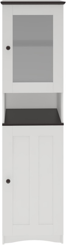 Housefull Engineered Wood Kitchen Cabinet(Finish Color - White + Wenge)