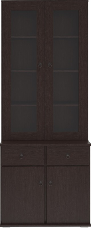 Housefull Engineered Wood Kitchen Cabinet(Finish Color - Black)