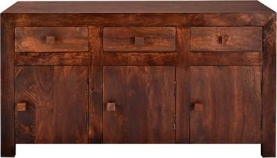 Jivan Solid Wood Kitchen Cabinet