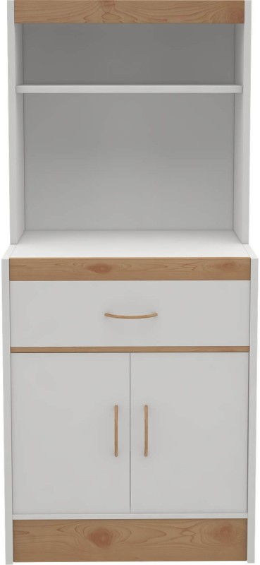 Housefull Engineered Wood Kitchen Cabinet(Finish Color - White)