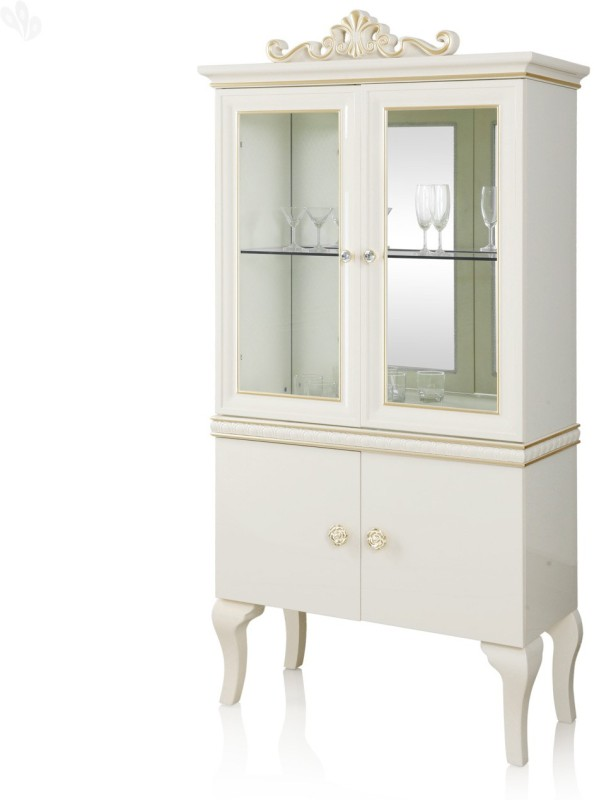 Royal Oak Royal Engineered Wood Crockery Cabinet(Finish Color - White)