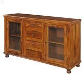 Royal Oak Solid Wood Crockery Cabinet (F...
