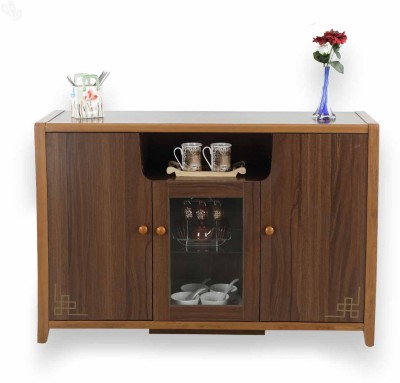 Royal Oak Daisy Engineered Wood Crockery Cabinet