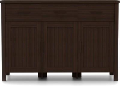 Urban Ladder Norland Sideboard Engineered Wood Crockery Cabinet(Finish Color - Dark Walnut)