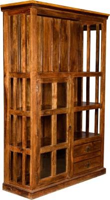 Rishabh Art Solid Wood Kitchen Cabinet