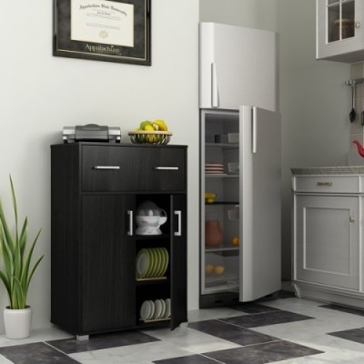 Housefull Engineered Wood Kitchen Cabinet(Finish Color - WENGE)