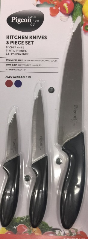 Pigeon Steel Knife Set(Pack of 3)