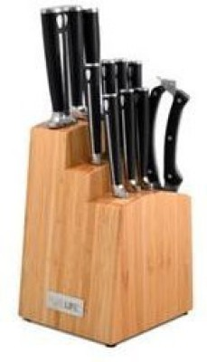 Pure Life Purelife Ragalta Plks 3000 Series 12Piece Forged High Carbon Stainless Steel Cutlery Set With Bamboo Block