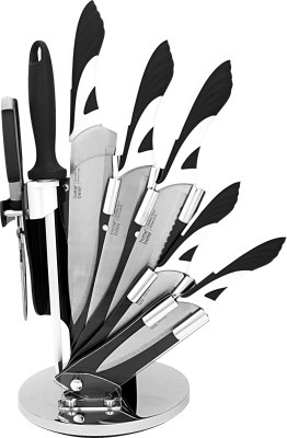 Home Creations 7pc Designer Knifes with Acrylic Stand Steel Knife Set