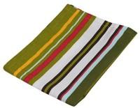 Cpm Handloom Green Cotton Kitchen Linen Set