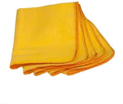 Welhouse Orange Cotton Kitchen Linen Set at flipkart