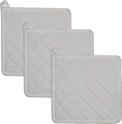 Airwill White Cotton Kitchen Linen Set(Pack of 3) at flipkart
