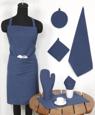 Ocean Homestore Blue Cotton Kitchen Linen Set(Pack of 14) at flipkart