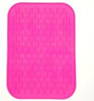 KARP Pink Silicon Kitchen Linen Set(Pack of 1)