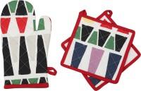 Mia Multicolor Cotton Kitchen Linen Set(Pack of 3)