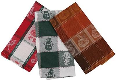London Lady Multicolor Cotton Kitchen Linen Set