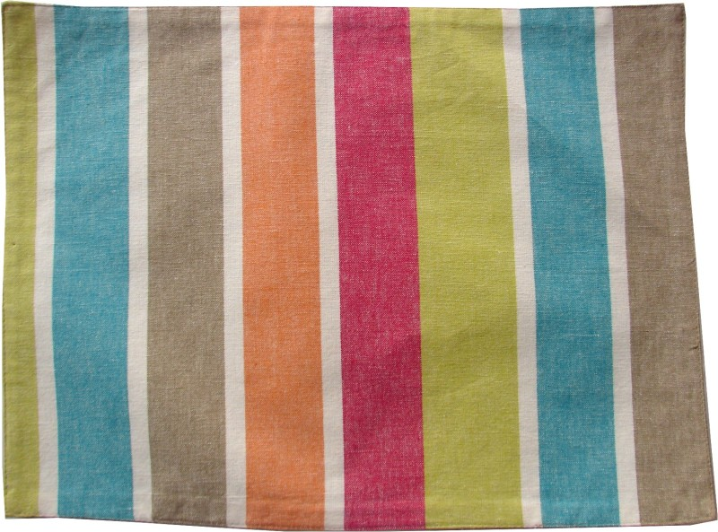 Homeblendz Rectangular Pack of 6 Table Placemat(Multicolor, Cotton)
