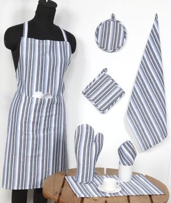 Ocean Homestore Black Cotton Kitchen Linen Set(Pack of 14) at flipkart